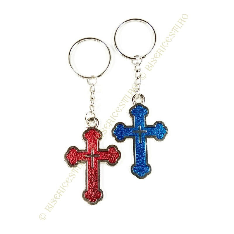 Obiecte bisericesti | Breloc cu cruce | 1527