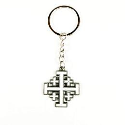 Obiecte bisericesti | Breloc cu cruce lacuita | 1533