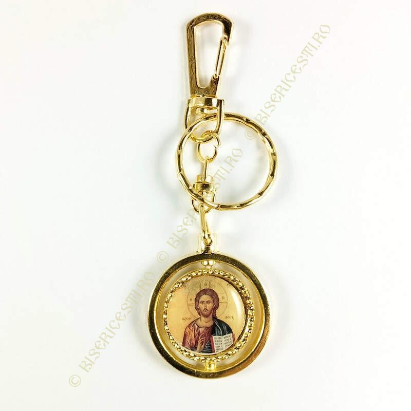 Obiecte bisericesti | Breloc cu Icoana Maicii Domnului rotitoare | 1541