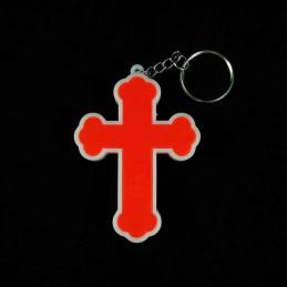 Obiecte bisericesti | Breloc cu o cruce cu led | 1543