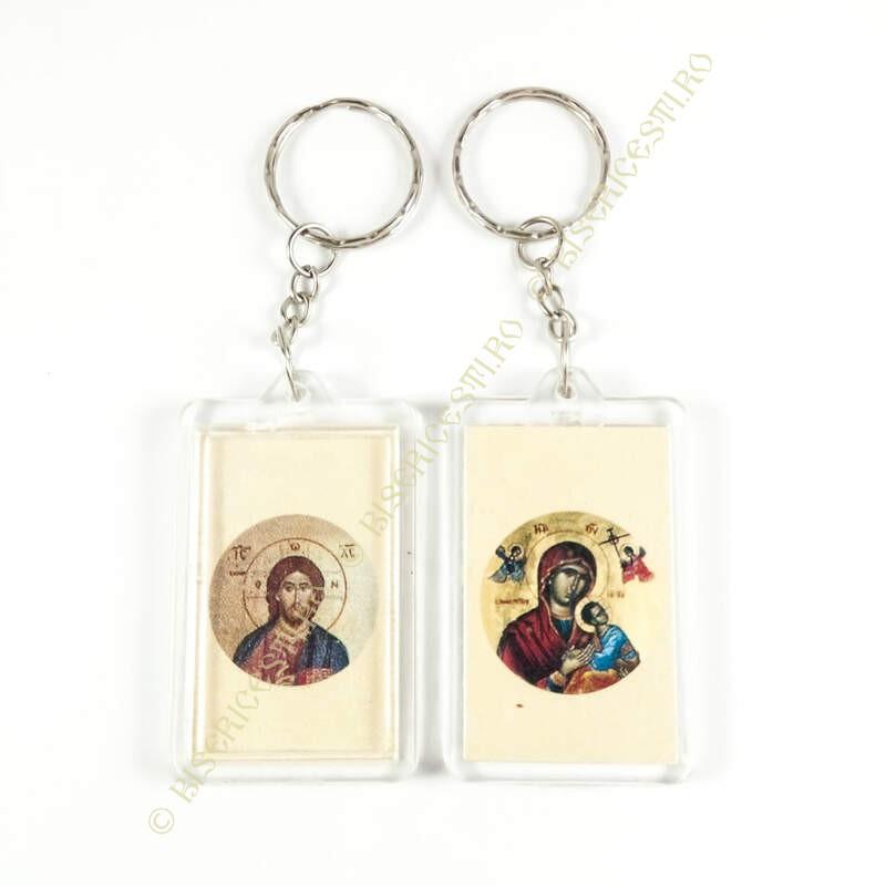 Obiecte bisericesti | Breloc cu Icoana Maicii Domnului inserata | 1552
