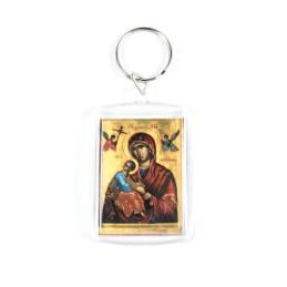 Obiecte bisericesti | Breloc cu Icoana Maicii Domnului inserata | 1553