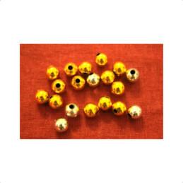 Obiecte bisericesti bile | Margele rotunde de trecere 8mm | 6103
