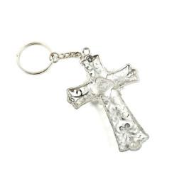 Obiecte bisericesti | Breloc cu cruce si Icoana Maicii Domnului aplicata | 1564