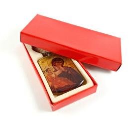 Obiecte bisericesti | Breloc cu Icoana Maicii Domnului inserata | 1567