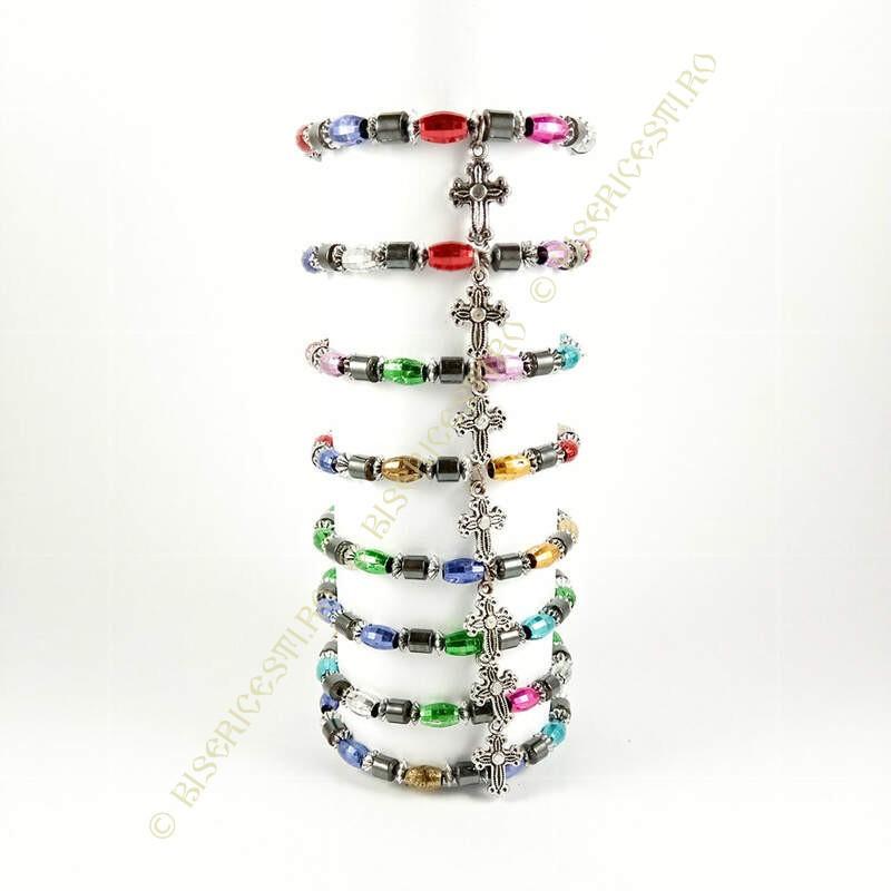 Obiecte bisericesti | Bratara elastica bile de plastic | 1008