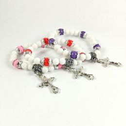 Obiecte bisericesti | Bratara elastica bile de plastic | 1019