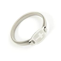 Obiecte bisericesti | Bratara elastica arc metalic | 1033