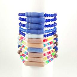Obiecte bisericesti | Bratara elastica bile de sticla | 1038
