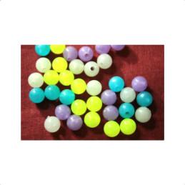 Obiecte bisericesti bile | Margele rotunde de trecere 8mm | 6121