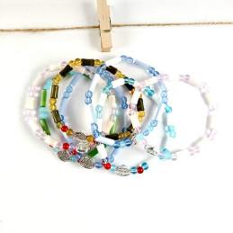 Obiecte bisericesti | Bratara elastica bile de sticla | 1044
