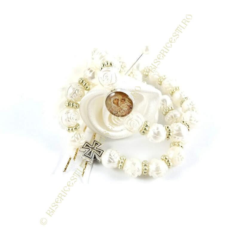 Obiecte bisericesti | Bratara elastica bile de plastic | 1068