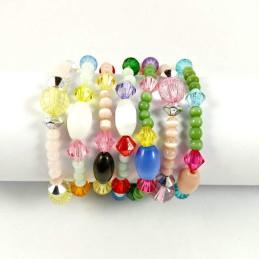 Obiecte bisericesti | Bratara elastica bile de sticla | 1075