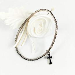 Obiecte bisericesti | Bratara elastica strasuri | 1112