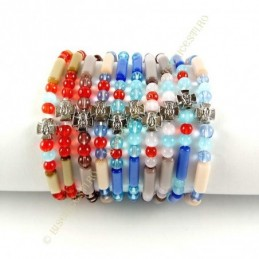 Obiecte bisericesti | Bratara elastica bile de sticla | 1127
