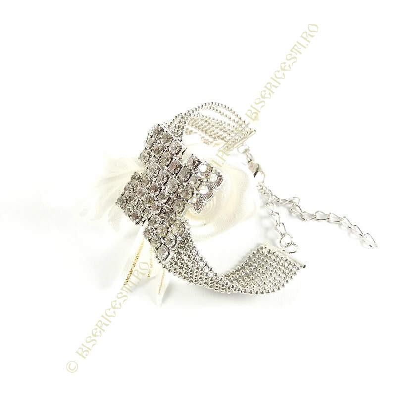 Obiecte bisericesti | Bratara lant metalic bile de metal | 1132