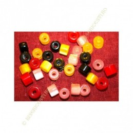 Obiecte bisericesti bile | Margele saiba de trecere 8mm | 6149