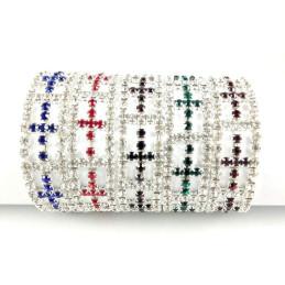 Obiecte bisericesti | Bratara elastica strasuri | 1173