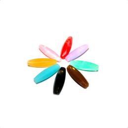 Obiecte bisericesti bile | Margele ovale de trecere 23mm | 6156