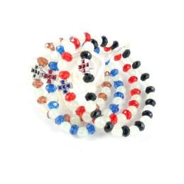 Obiecte bisericesti | Bratara elastica elemente de plastic | 1176