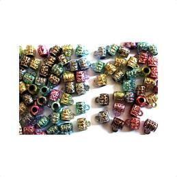 Obiecte bisericesti bile | Margele cilindru de trecere 8mm | 6160