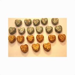 Obiecte bisericesti bile | Margele inima de trecere 9mm | 6167
