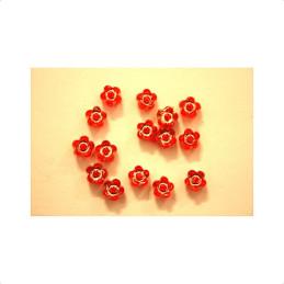 Obiecte bisericesti bile | Margele floare de trecere 6mm | 6171