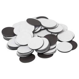Magneti | Discuri magnetice cu adeziv 1mmx2.4cmx2.4cm | 3820