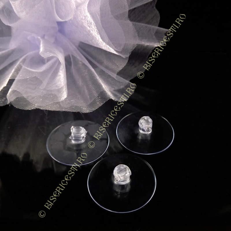 Ventuza   Ventuze disc plastic mici 2.5cmx2.5cm   3651