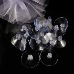 Ventuza | Ventuze disc plastic mici 2.5cmx2.5cm | 3651
