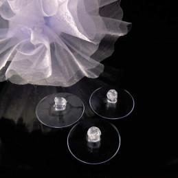 Ventuza | Ventuze disc plastic mici 3cmx3cm | 3653
