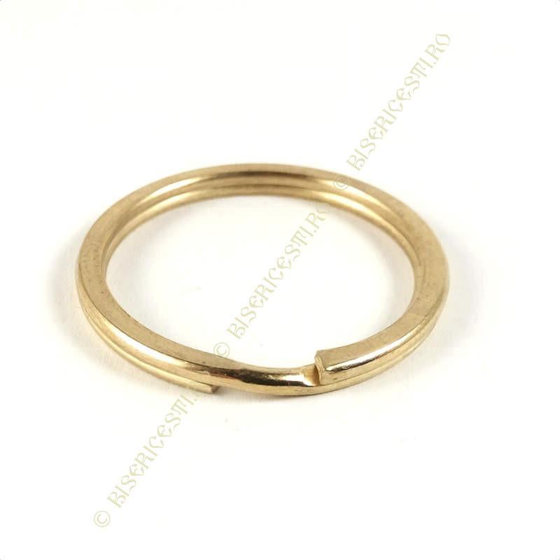 Inel breloc | Baza breloc inel 2.5cmx2.5cm | 3659