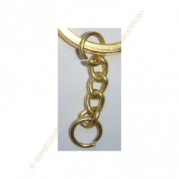 Inel breloc | Baza breloc lant 0.5cmx2cm | 3660