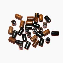 Obiecte bisericesti bile | Margele cilindru de trecere 8mm | 6203