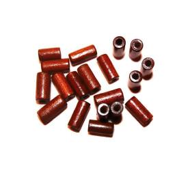Obiecte bisericesti bile | Margele cilindru de trecere 15mm | 6204