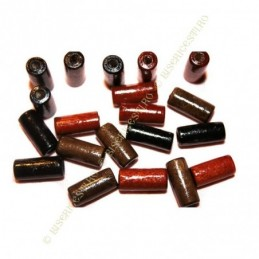 Obiecte bisericesti bile | Margele cilindru de trecere 12mm | 6205