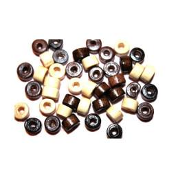 Obiecte bisericesti bile | Margele saiba de trecere 5mm | 6207