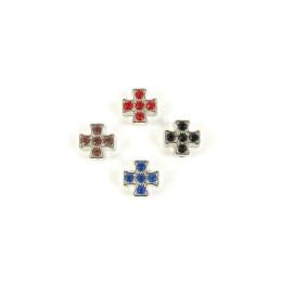 Obiecte bisericesti bile | Margele cruce de trecere 7mm | 6005