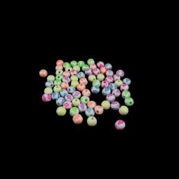 Obiecte bisericesti bile | Margele rotunde de trecere 6mm | 6264