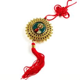 Obiecte bisericesti Medalion auto stea din plastic Ventani 2500