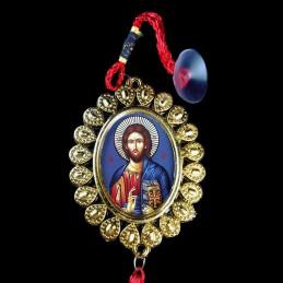 Obiecte bisericesti Medalion auto oval  din plastic Ventani 2501