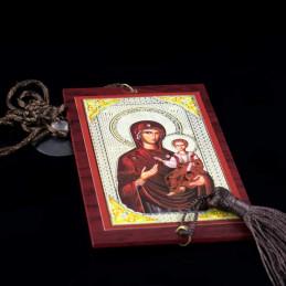 Obiecte bisericesti Medalion auto dreptunghiular  din lemn Ventani 2504