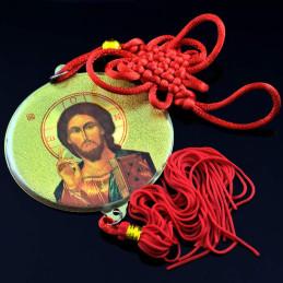 Obiecte bisericesti Medalion auto rotund  din plastic Ventani 2512
