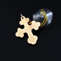 Obiecte bisericesti Medalion auto cruce din lemn Ventani 2518