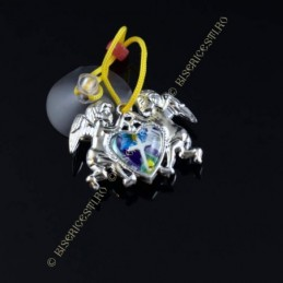 Obiecte bisericesti Medalion auto ingeri din plastic Ventani 2519
