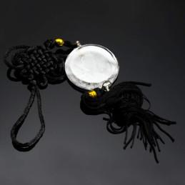Obiecte bisericesti Medalion auto rotund  din sticla Ventani 2520