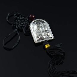 Obiecte bisericesti Medalion auto gravat din metal Ventani 2521