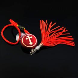 Obiecte bisericesti Medalion auto rotund  din plastic Ventani 2523