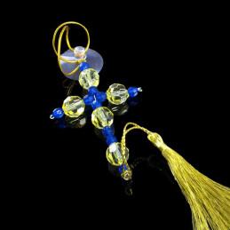 Obiecte bisericesti Medalion auto cruce pe suport din sarma Ventani 2531