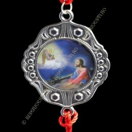 Obiecte bisericesti Medalion auto rotund  din metal Ventani 2534